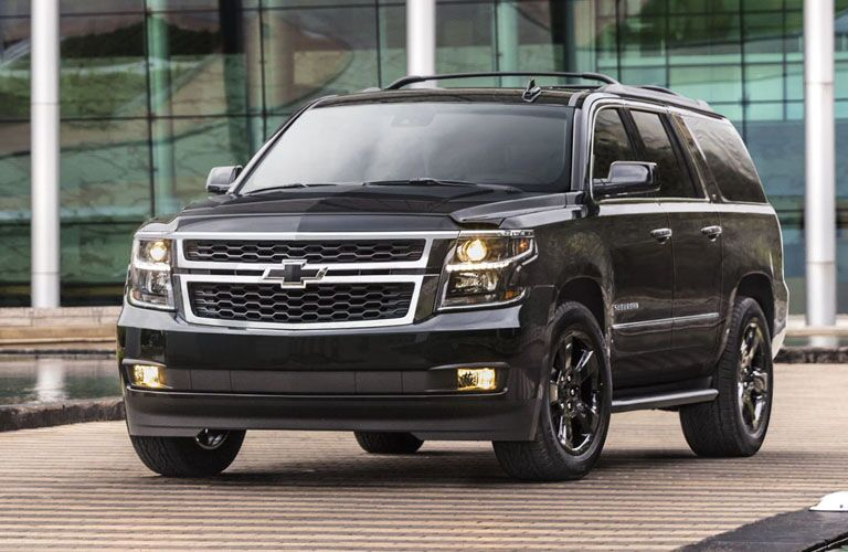 full view of 2019 suburban parked