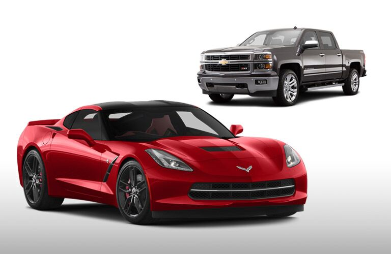 Ford and Chevy vehicles in Alabama