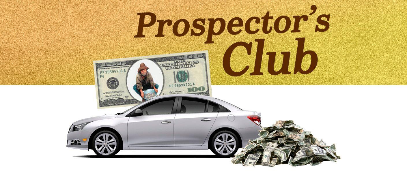 Harbin Automotive Prospecter's Club - Earn money!