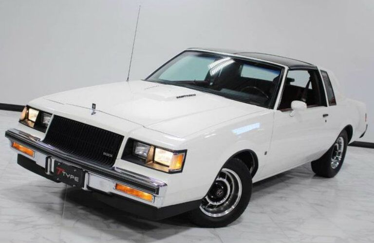 White 1987 Buick Regal at Apex Motorworks