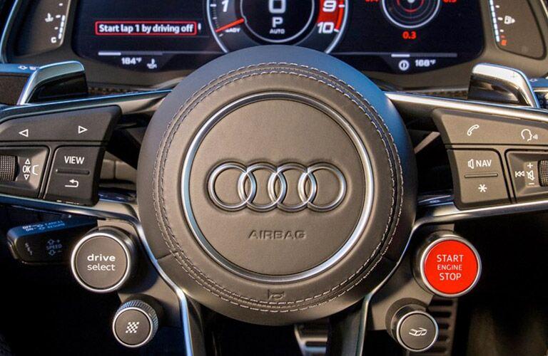 Audi R8 steering wheel