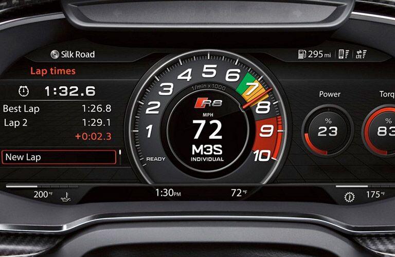 Audi R8 gauge cluster