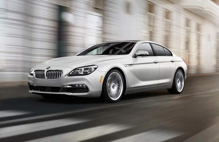 BMW 6-Series white side view