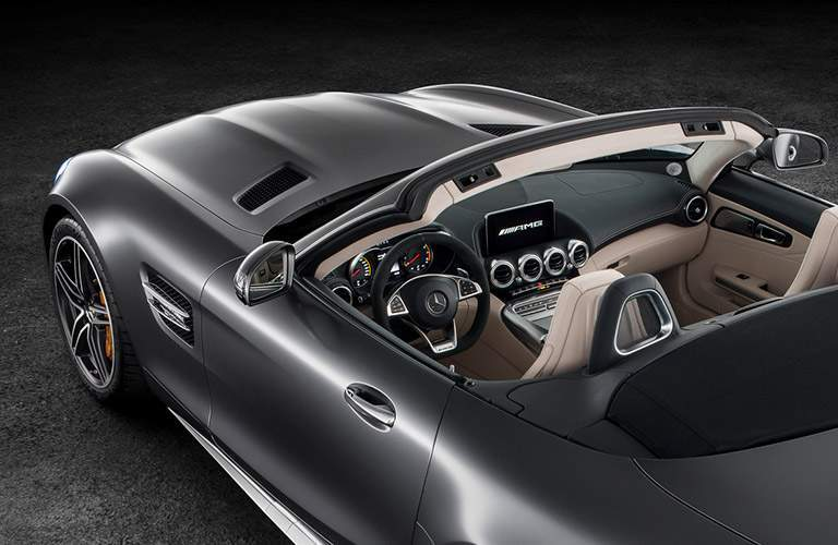 2018 Mercedes-Benz AMG GT-C convertible top view