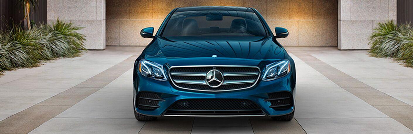 2019 Mercedes-Benz E-Class blue front view
