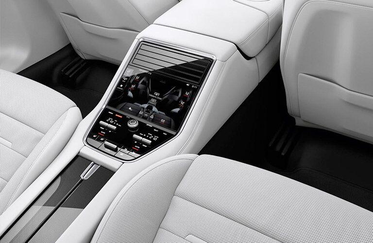 2017 Porsche Panamera back seat center console