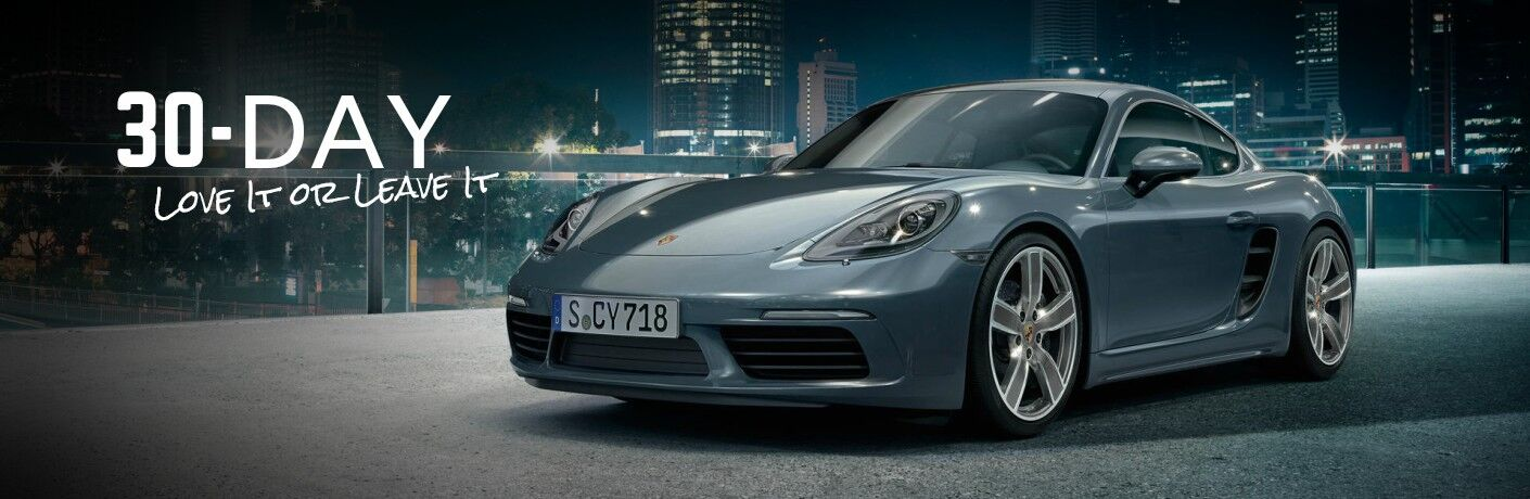 30-Day Love It or Leave It with a Porsche 718 Caymen