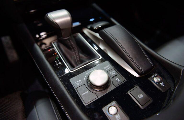 Used Lexus center console