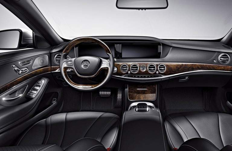 Mercedes-Benz S-Class black interior
