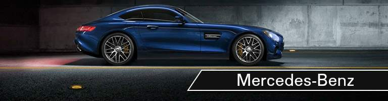 Mercedes-Benz AMG GT C Coupe blue side view