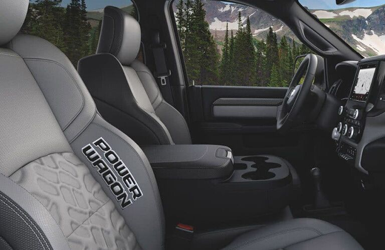 2019 Ram 2500 Power Wagon Front Seat Interior