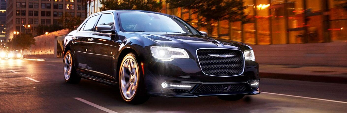 2020 Chrysler 300 in black