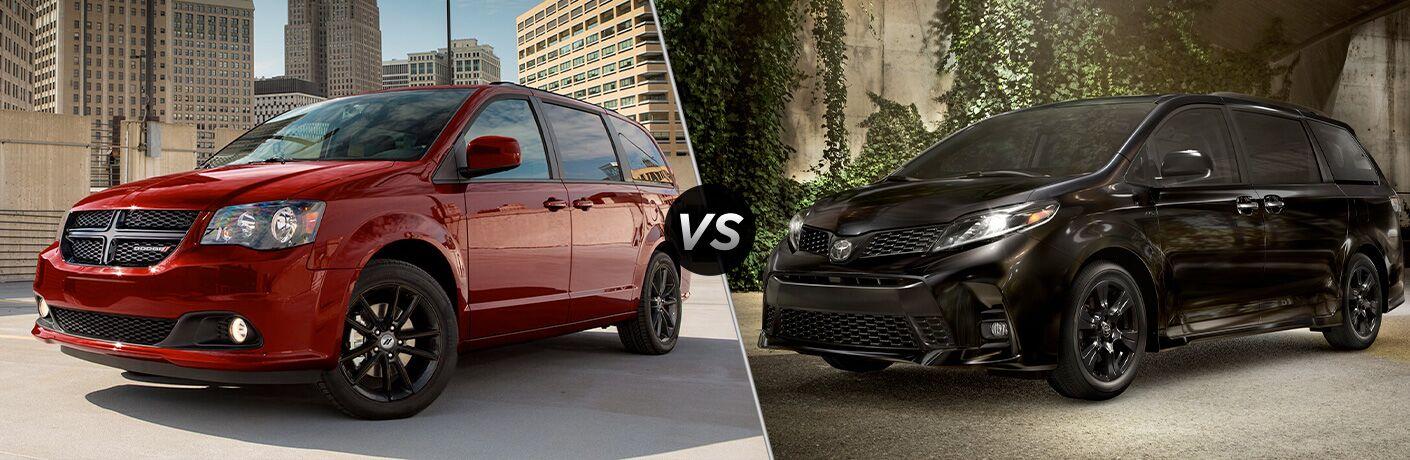 2020 Dodge Grand Caravan vs 2020 Toyota Sienna