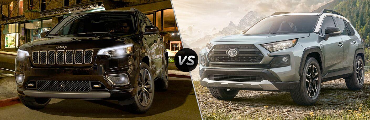 2020 Jeep Cherokee vs 2020 Toyota RAV4