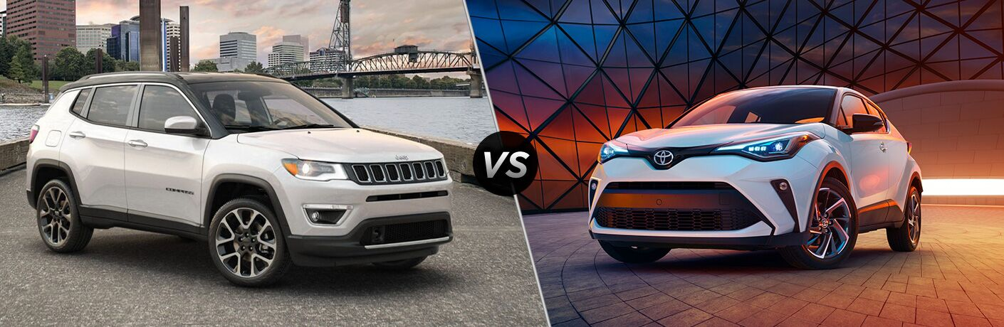 2020 Jeep Compass vs 2020 Toyota C-HR