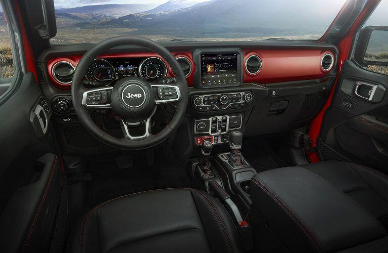 2020 Jeep Gladiator dashboard