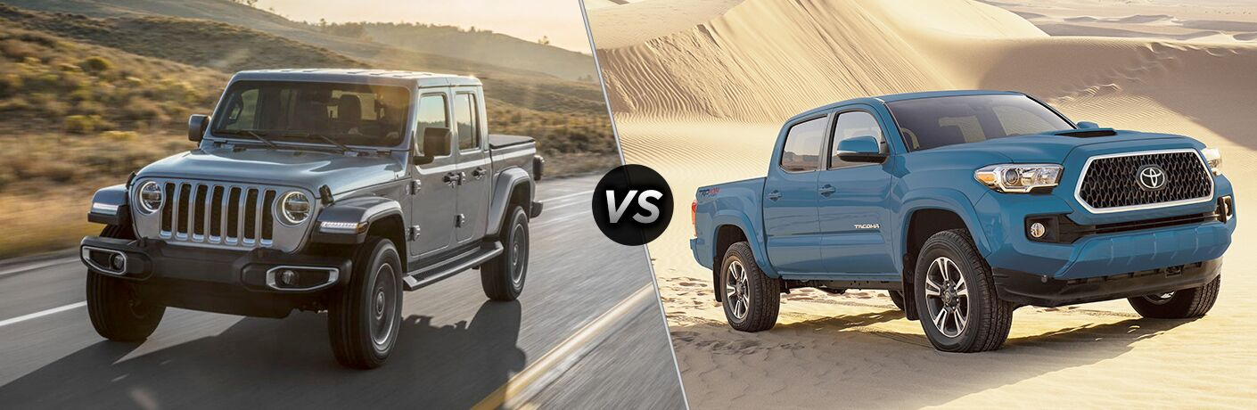 2020 Jeep Gladiator Vs 2019 Toyota Tacoma