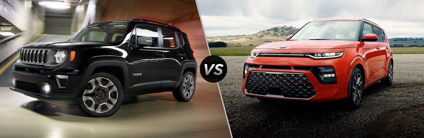 2020 Jeep Renegade vs 2020 Kia Soul