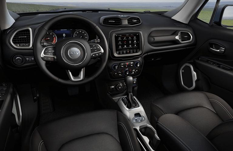 2020 Jeep Renegade dashboard