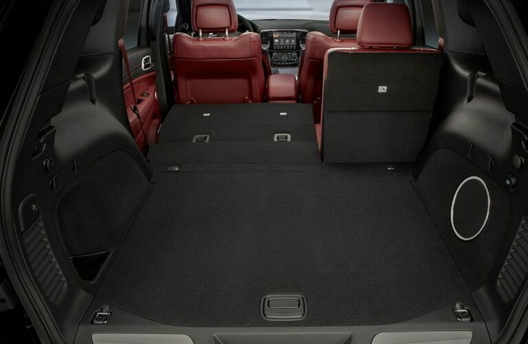 Cargo area in 2020 Jeep Grand Cherokee