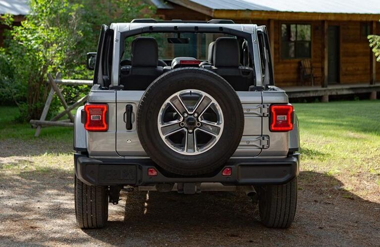 2020 Jeep Wrangler from exterior rear