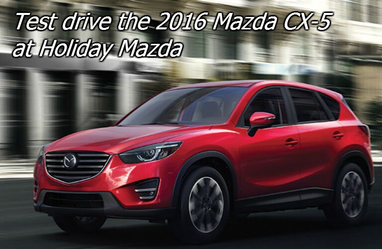 test drive the new mazda CX-5
