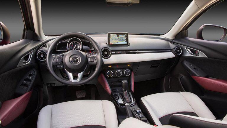 Mazda CX-3 leather seats