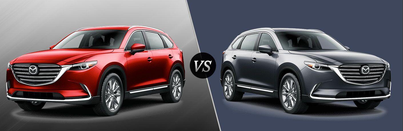 2016 Mazda CX-9 Grand Touring vs Signature