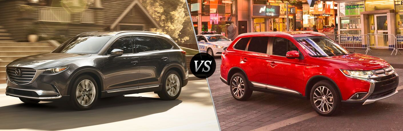 2016 Mazda CX-9 vs 2017 Mitsubishi Outlander