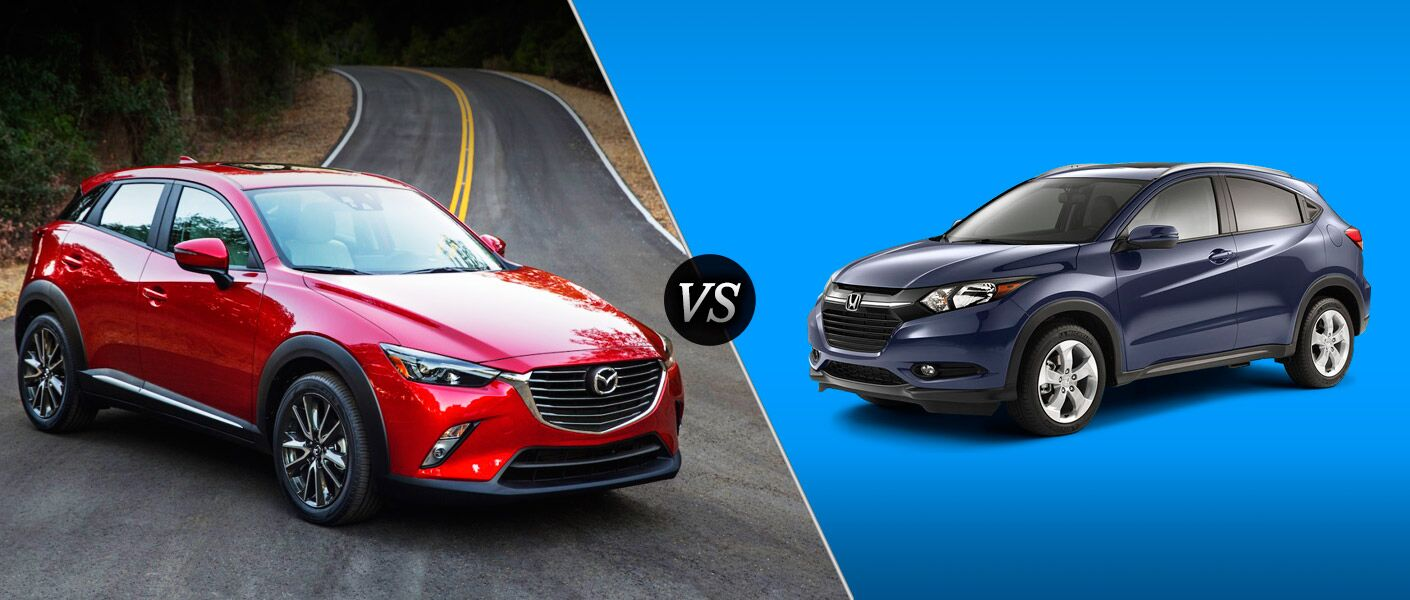 Cx 3 Vs Hrv >> 2016 Mazda CX-3 vs 2016 Honda HR-V