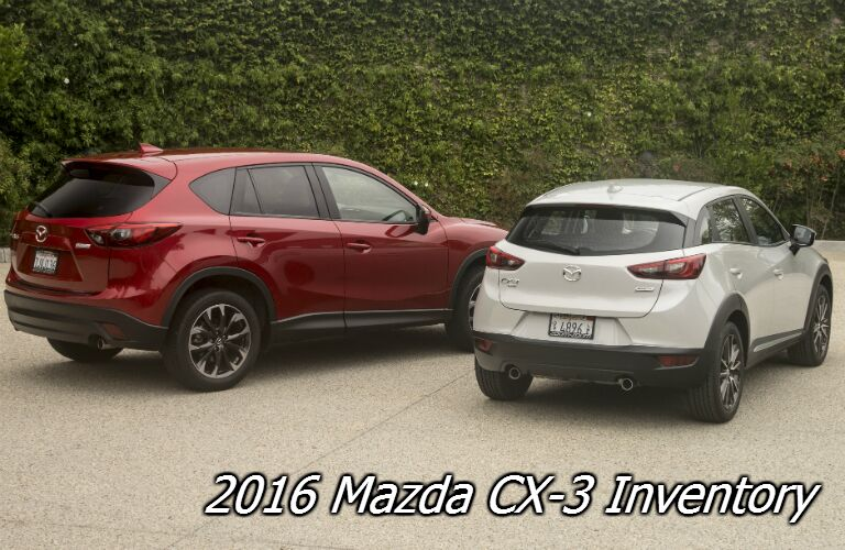 2016 mazda cx-3 inventory in madison wi