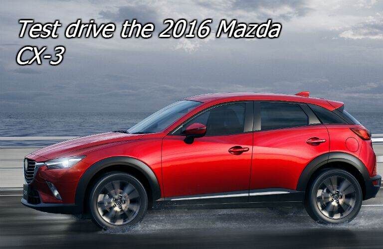 test drive the mazda cx-3