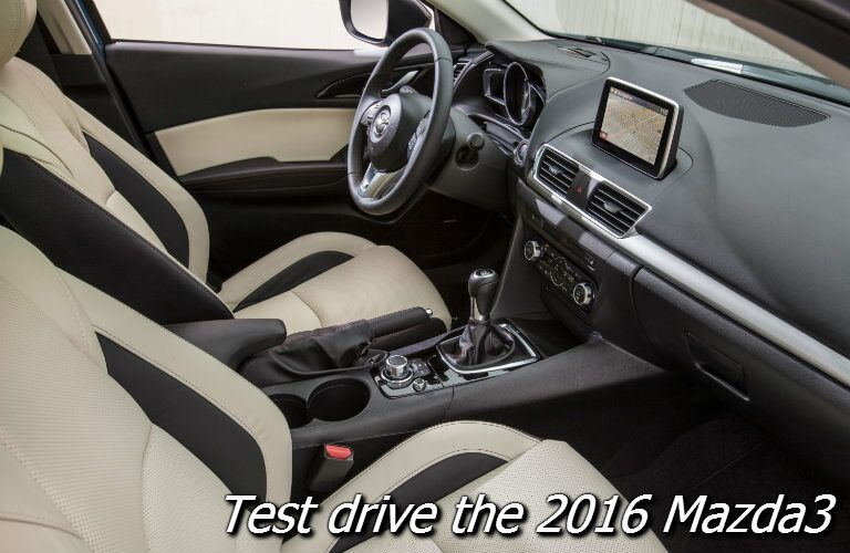Test Drive 2016 Mazda3 Near West Bend
