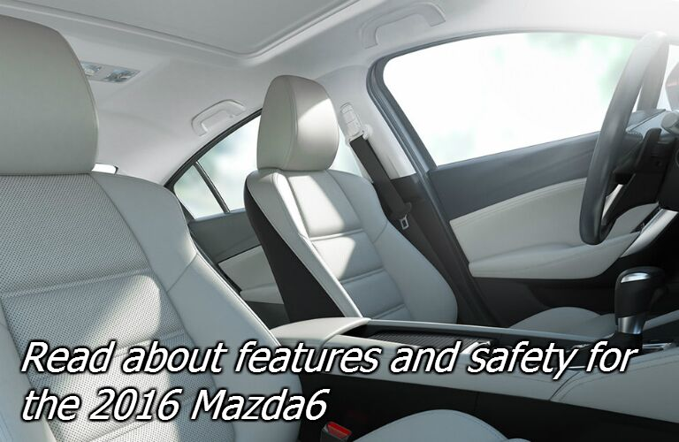 is the 2016 mazda6 safe?