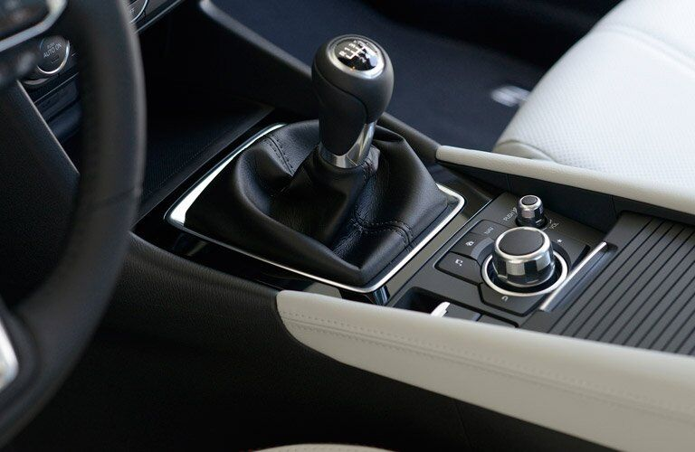 2017 mazda3 with manual transmission shifter
