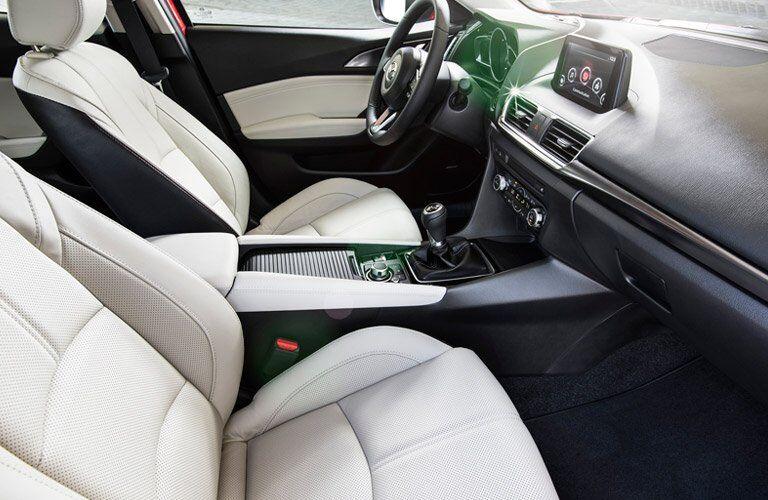 2017 mazda3 seat design
