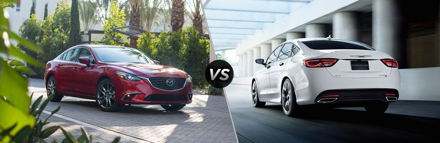 2017 Mazda6 vs 2017 Chrysler 200