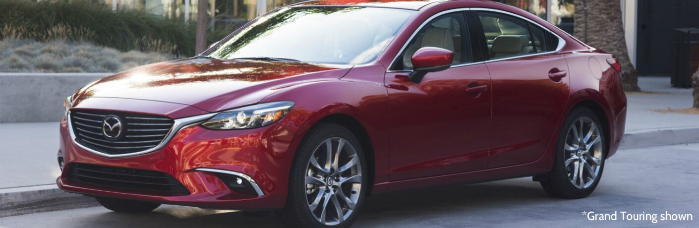 2017 Mazda6 Sport vs Touring Trim