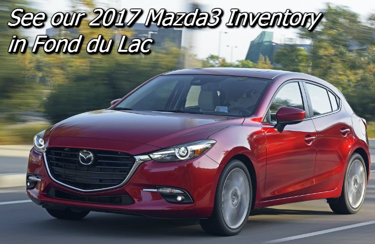 new mazda3 inventory in fond du lac wi