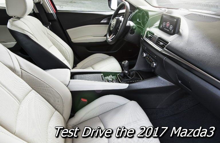 where can i test drive the 2017 mazda3 near oshkosh?