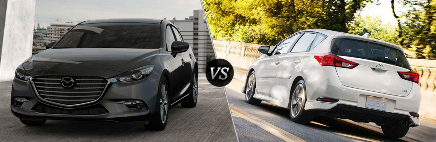 2017 Mazda3 vs 2017 Toyota Corolla iM