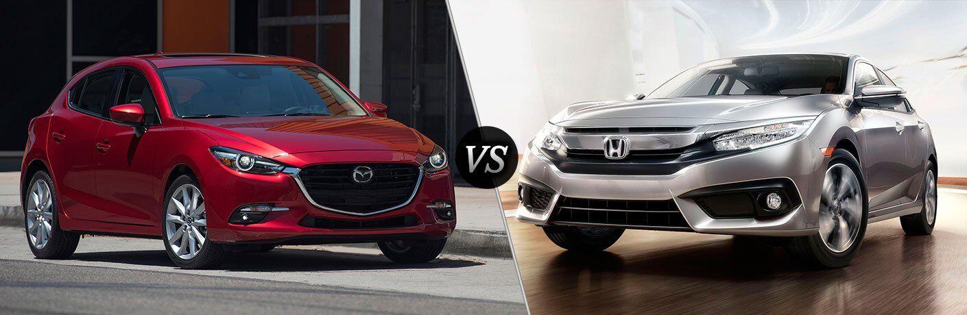 2017 Mazda3 vs 2017 Honda Civic