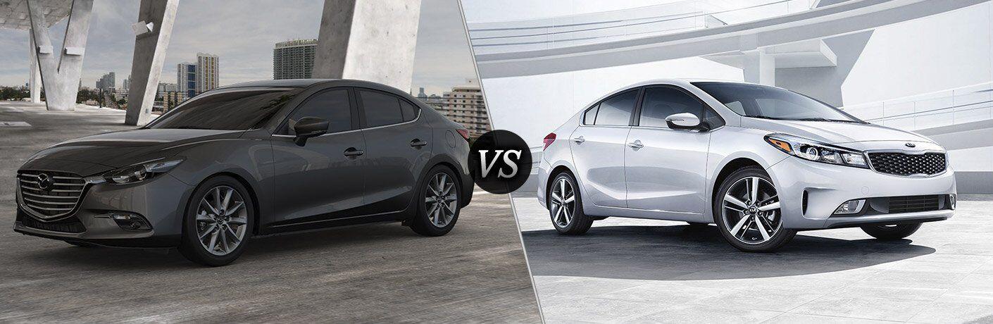 2017 Mazda3 vs 2017 Kia Forte