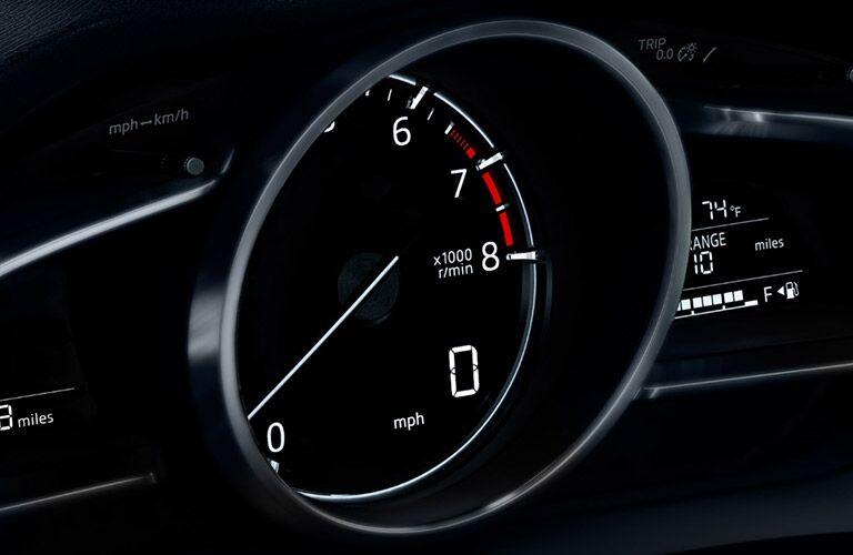 2018 Mazda3 speedometer