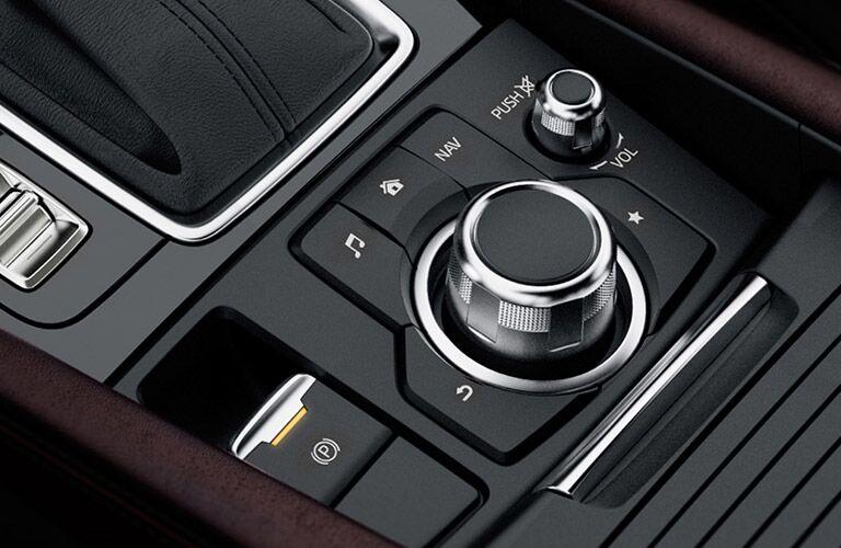2018 Mazda3 center console controls