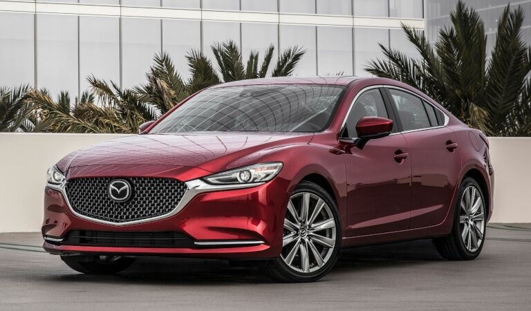 2018 Mazda6 red front side view