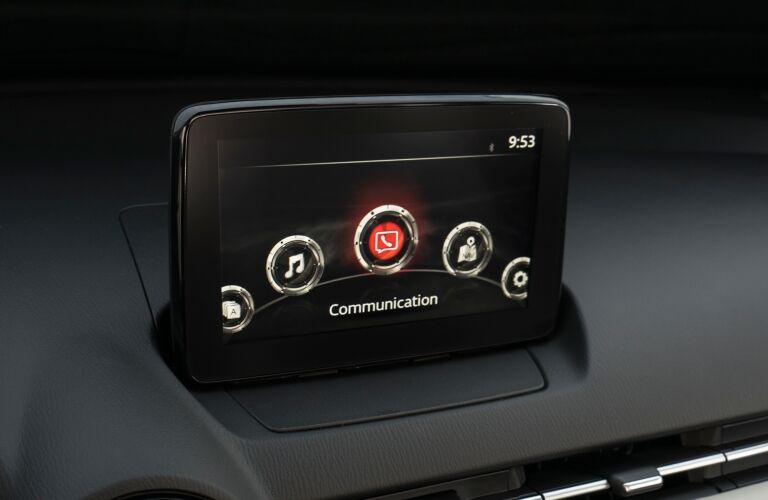 2018 Mazda CX-3 infotainment screen
