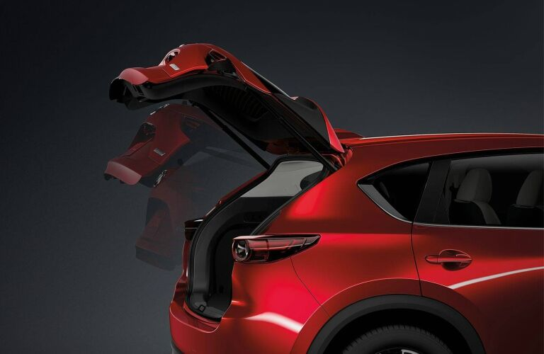 2018 Mazda CX-5 red liftgate