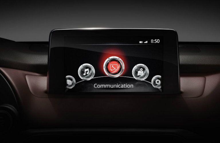 2018 Mazda CX-9 8-inch infotainment screen