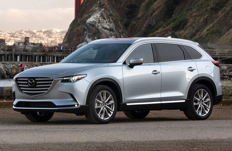 2018 Mazda CX-9 silver side view